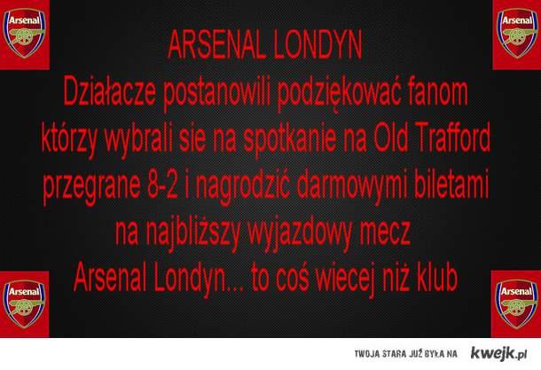 Arsenal Londyn- to coś więcej niż klub