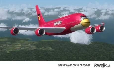 samolot angry birds