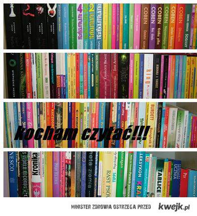 kocham czytać!