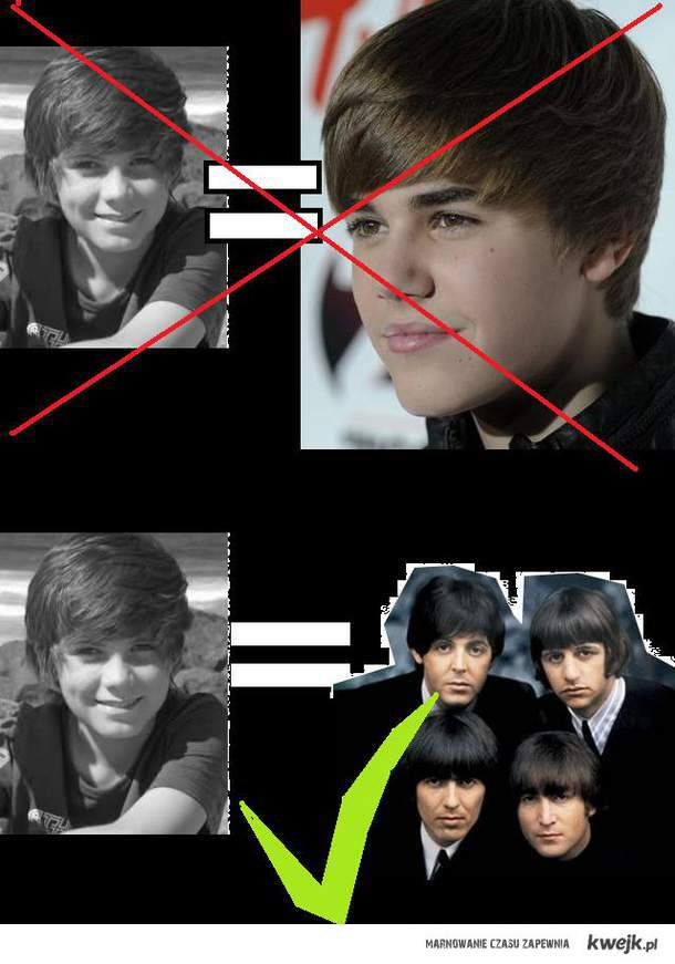 Fuck Bieber! Looks like the beatles!