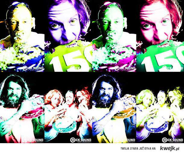 Biffy Clyro colourful