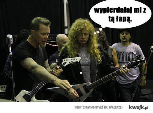 Mustaine vs Hetfield