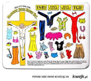 DRESS JESUS