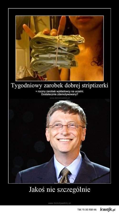 Bill Gates Vs Striptizerka