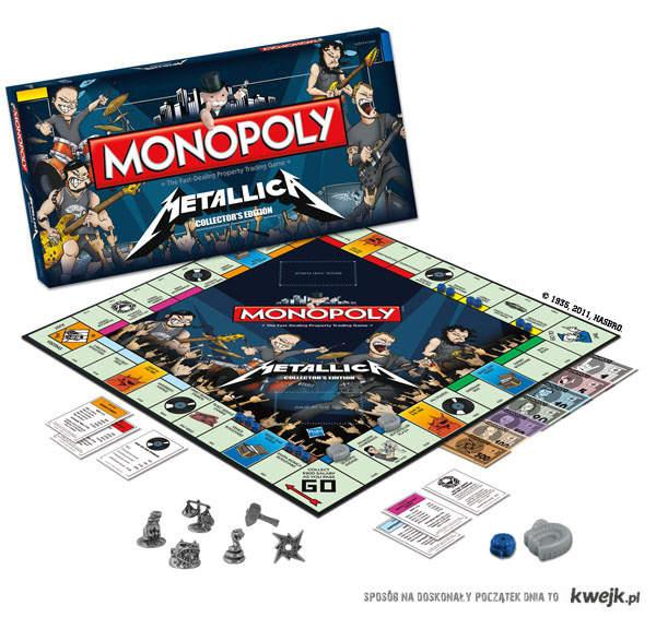 MONOPOLY METALLICA EDITION!!!