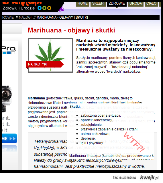 Marihuana - bzdury!
