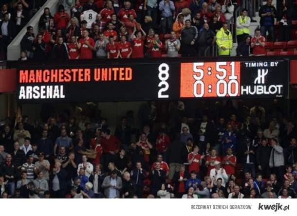 Manchester Utd 8:2 Arsenal