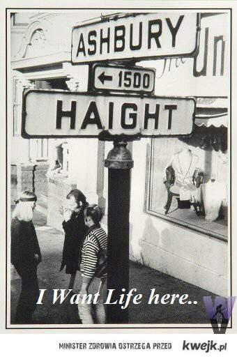 Stolica Hipisów w San Francisco