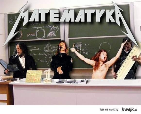 Matematyka Metallica