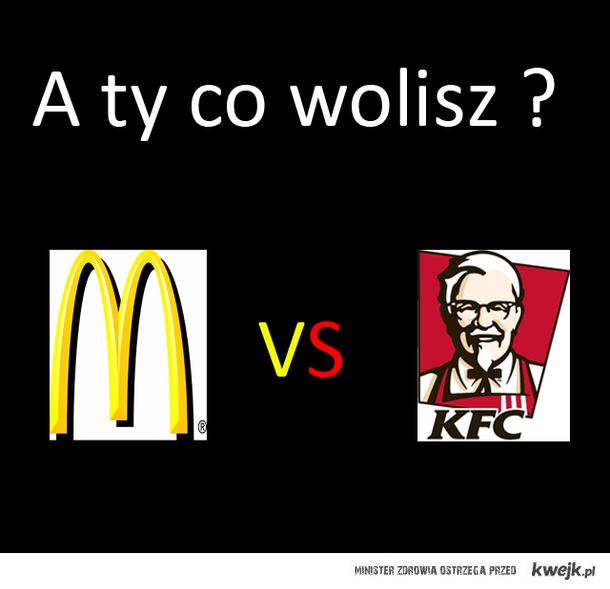 MC DONALD VS KFC