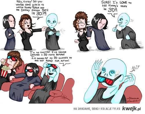 Voldemort i 3D