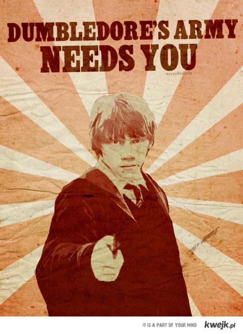 Gwardia Dumbledore'a na Ciebie czeka.