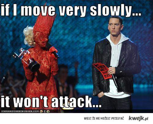 Lady Gaga vs Eminem