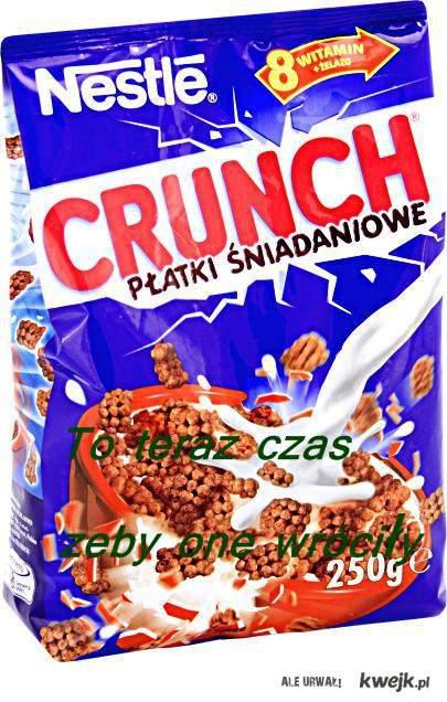 platki crunch
