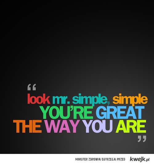 Mr. Simple