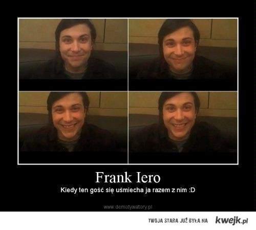 Frank Iero.