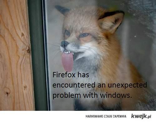 firefox vs windows xD