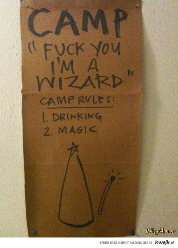 Camp Wizard