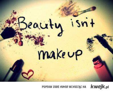 nie maluj się