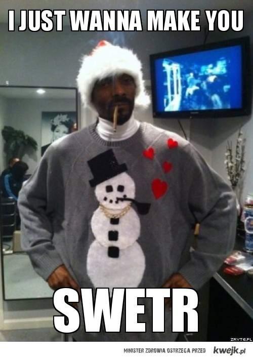 snoop dogg i'm just wanna make you swetr