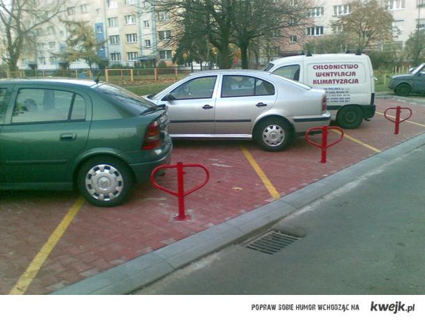 a w Łodzi parkuje się tak