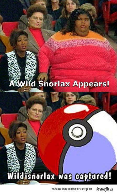 Wild Snorlax