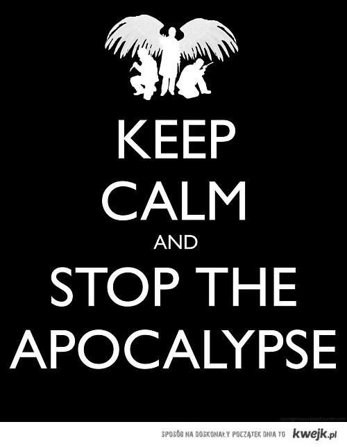 stop the apocalypse - spn