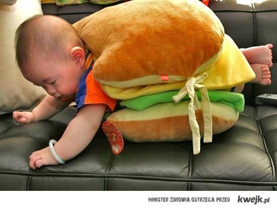 dzieciak kanapka
