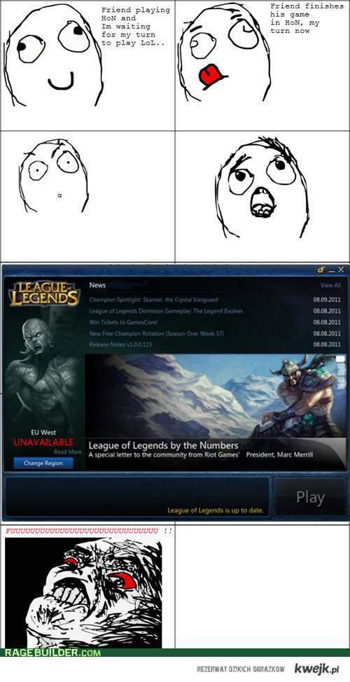 LoL Rage !