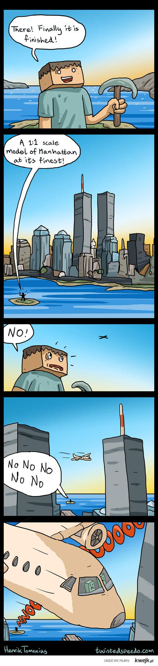 Minecraft WTC