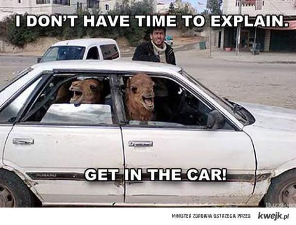 Nie ma czasu na wyjaśnienia ...