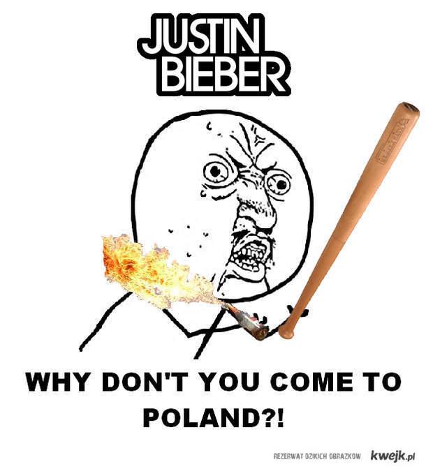 Zapraszamy do Polski bieberku
