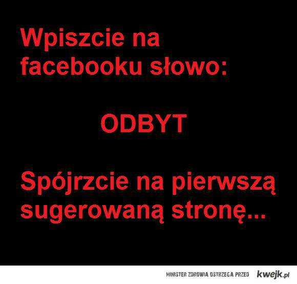 Facebookowy odbyt