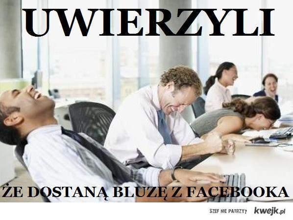 Bluza facebook