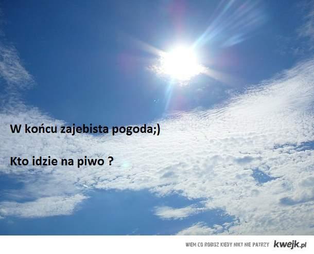 slonce i piwko;)