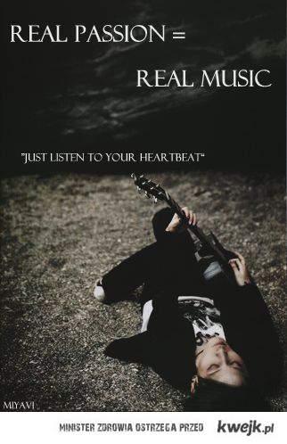Miyavi. Bo muzyka powinna łączyć, nie dzielić, wsłuchaj się w rytm swego serca.