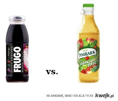 Tymbark czy Frugo?