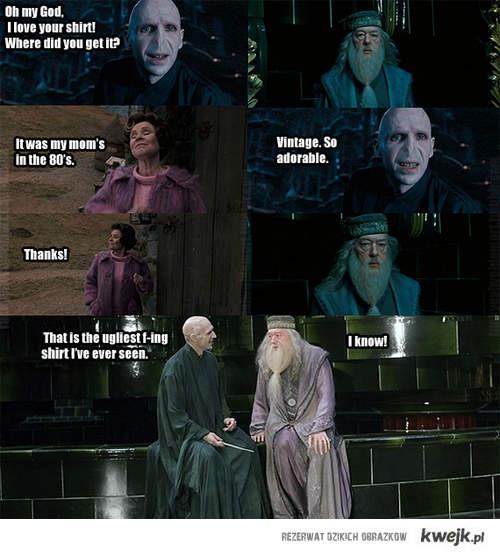 Voldemort,Dumbledore, Wesley