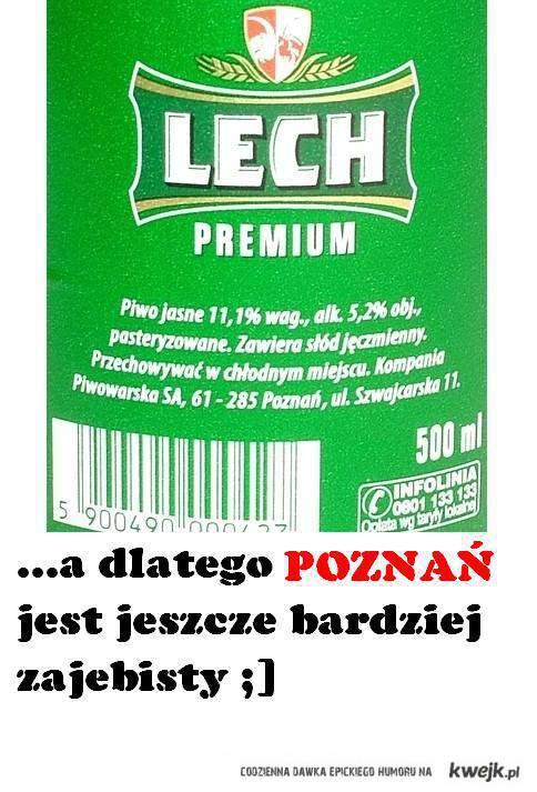 Poznań zajebisty.