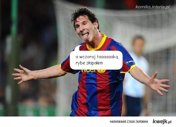 Co najlepiej robi Messi ?