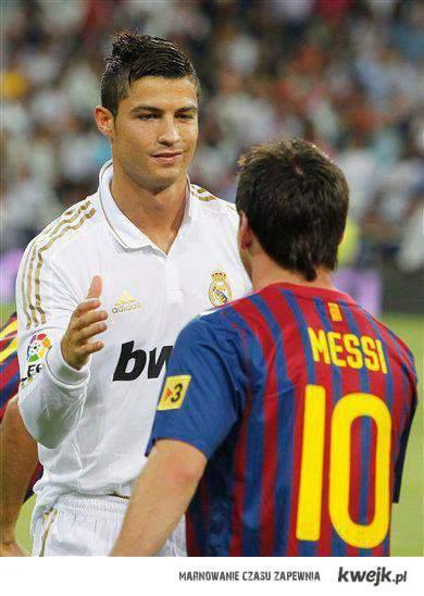 Ronaldo i Messi ;d