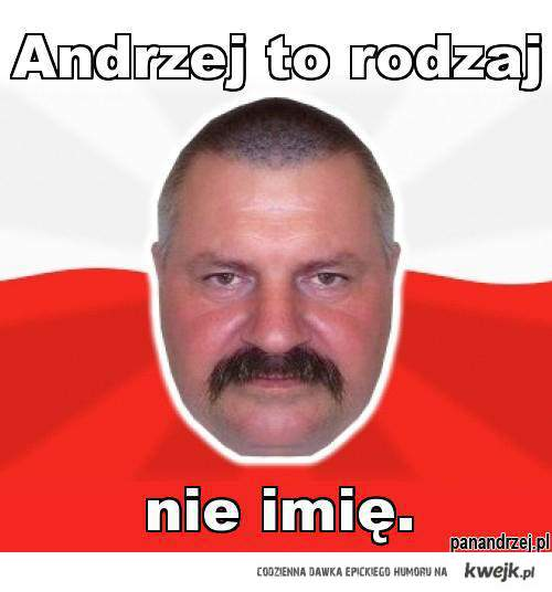 Andrzej to rodzaj