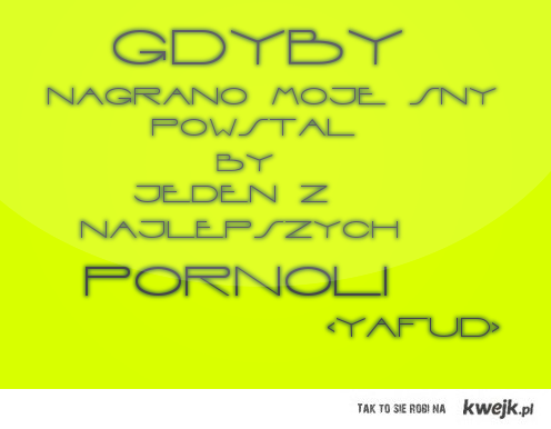 Gdyby nagrano ... :D