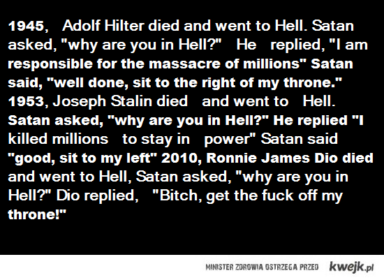 DIO IN HELL