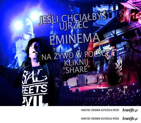 Eminem w Polsce?!