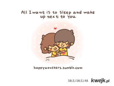 Sleep and wake up next U