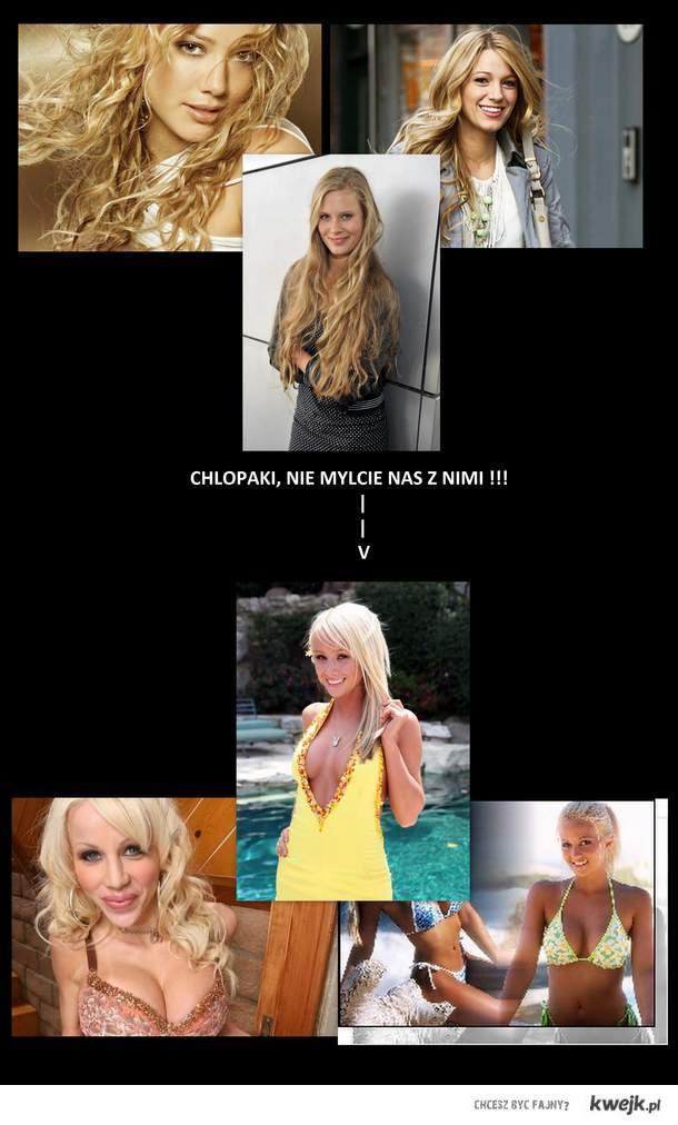 Blondynki vs. Blondi