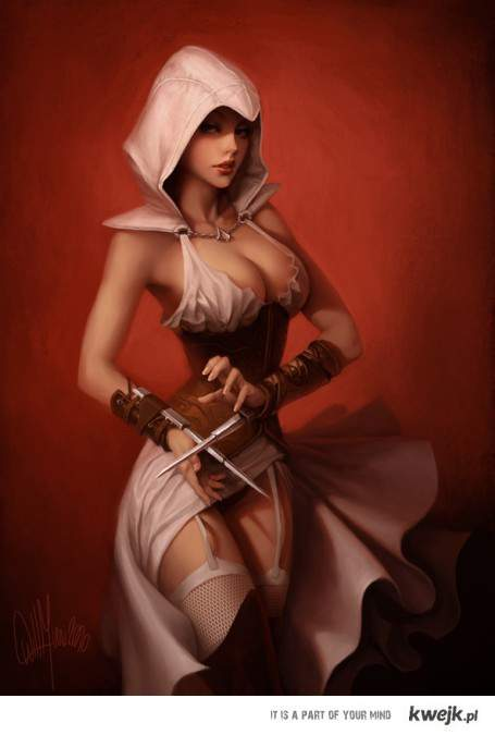 assassin creed woman