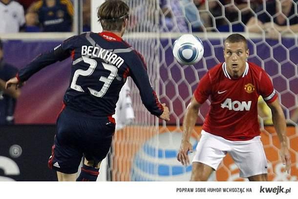 Beckham vs Vidic