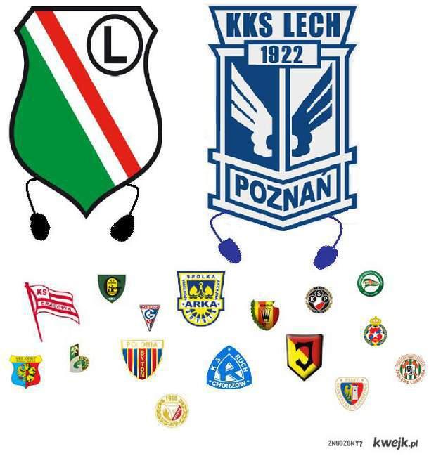 Lech Poznań i Legia Warszawa